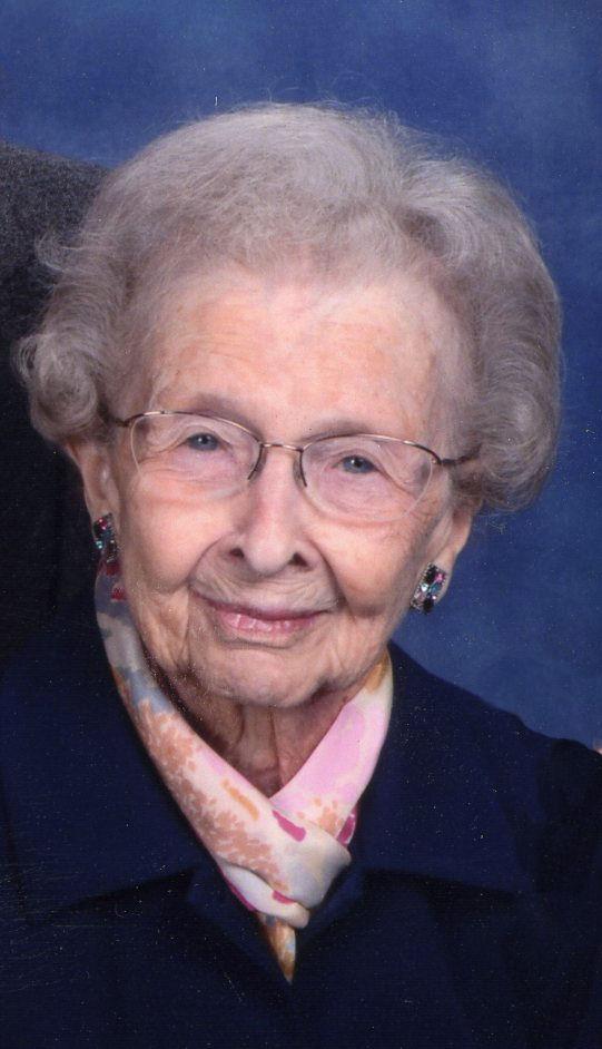 Florence Audrey Anderson, 102, of Lexington, Nebraska