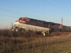 One person killed,  another injured in train, grain truck accident west of Mitchell
