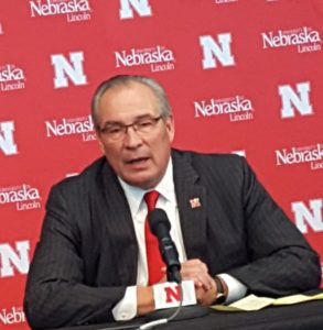 New Nebraska AD gets extra $1.25M if he stays on job 5 years