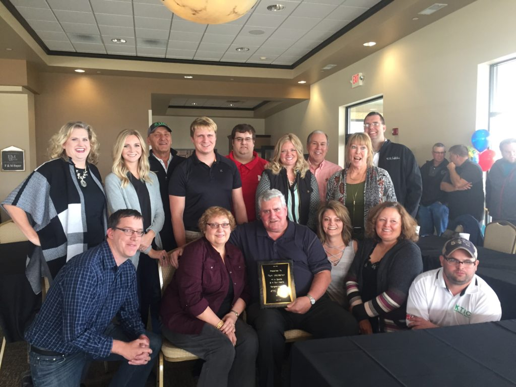 (Audio) Hundreds Attend Retirement Event For Tom McMahon