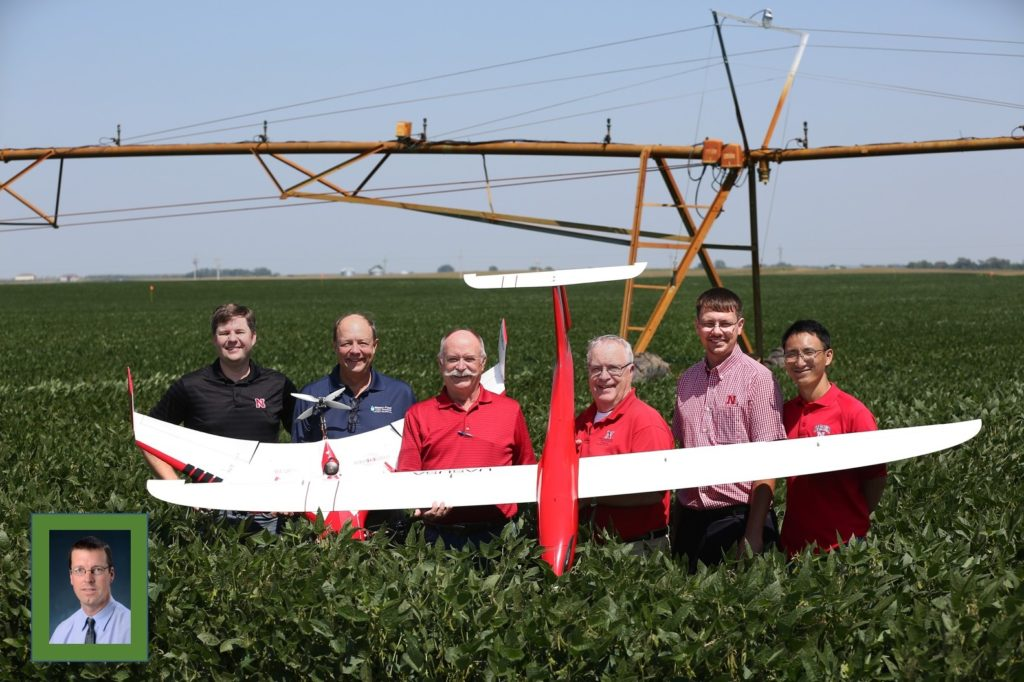Drones are buzzing toward increased crop production