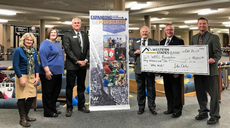 WNCC Foundations receives $50k donation from Western States Bank