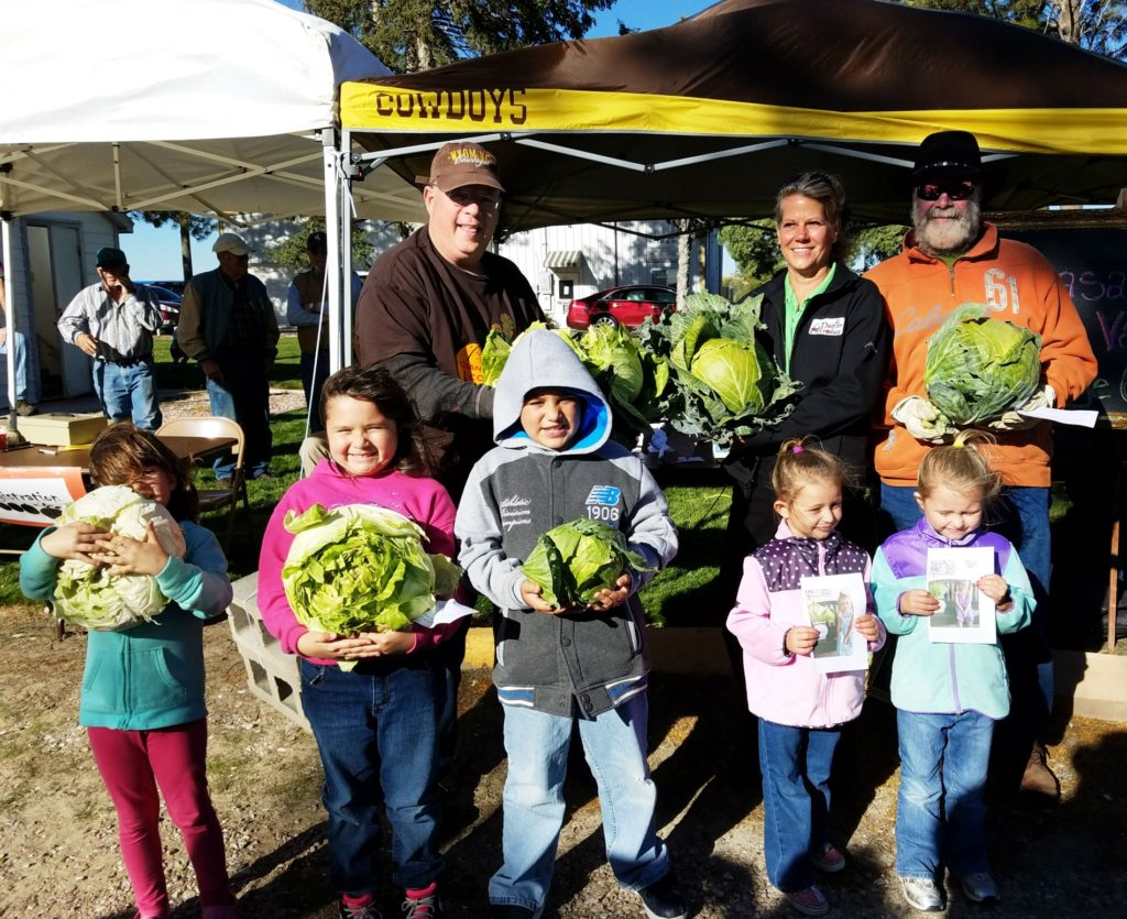 Giant Pumpkin and Cabbage contest announces winners