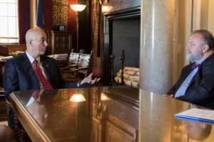 (Audio) Gov. Ricketts Hosts Czech Republic Ambassador to the United States