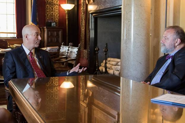 (Audio) Gov. Ricketts Hosts Czech Republic Ambassador to the United States