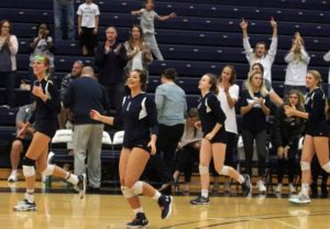 Bulldogs honor seniors with straight-sets win over Mount Marty
