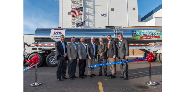 DFA celebrates opening of new plant