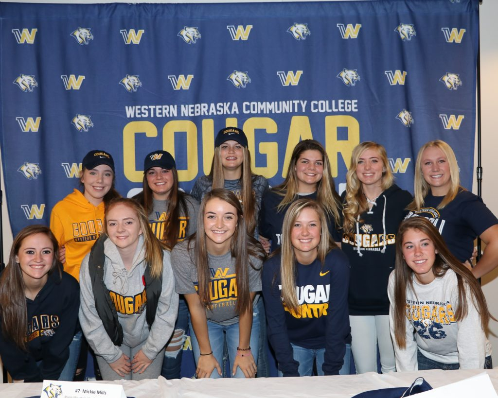WNCC softball inks 13 for next year