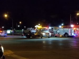 Semi driver cited after injury accident Wednesday evening