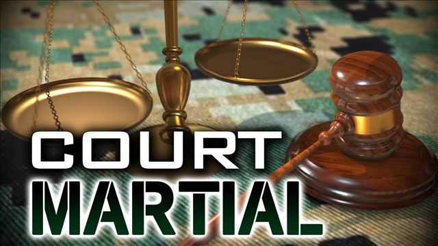 Court martial for airman charged with murder moved downtown