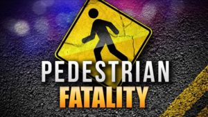 Vehicle-pedestrian fatality in Hastings