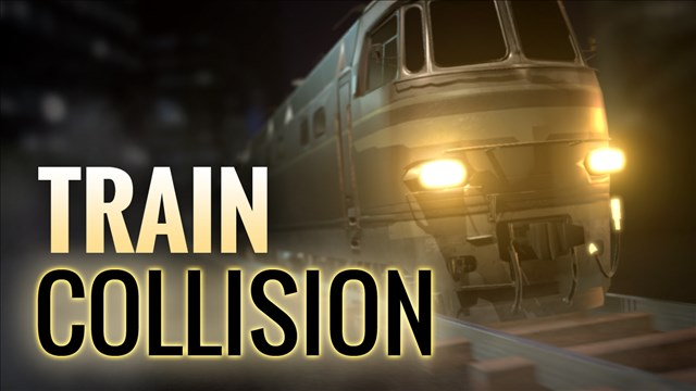 Two hurt, diesel spilled in BNSF two-train collision in Wyoming