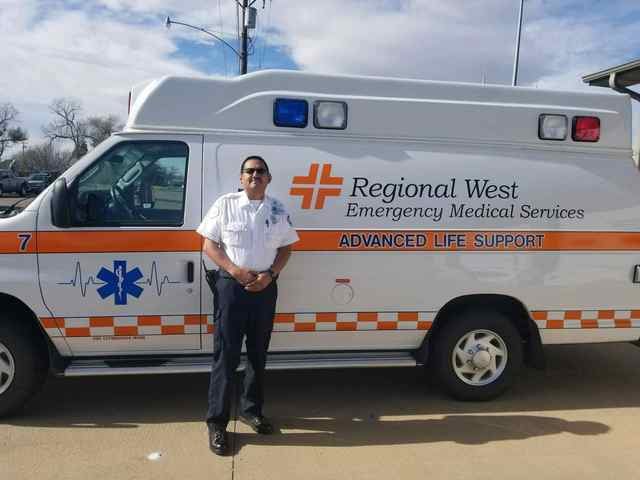 Local EMT Recognized for 20 Years of Service