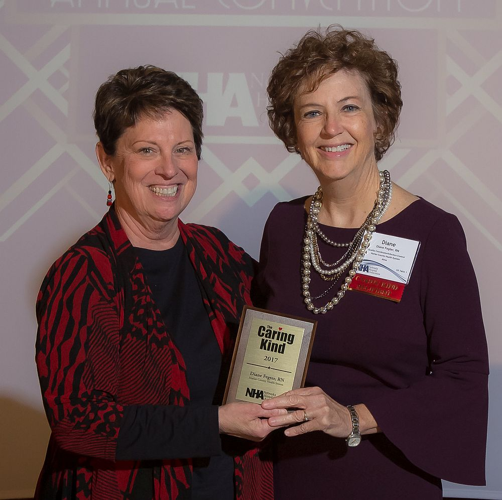 HCHS nurse receives Caring Kind Award from Ne Hospital Assn