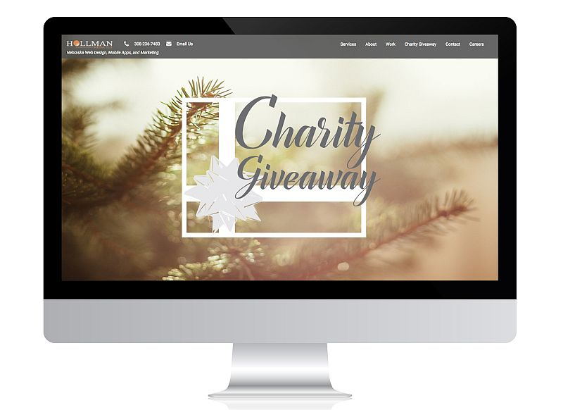 New Website to be Awarded to Nebraska Charity