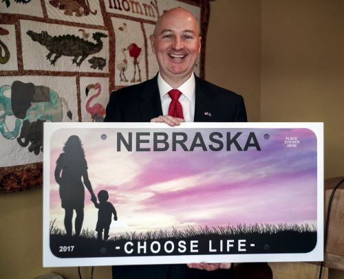 Design for state's new anti-abortion license plates unveiled