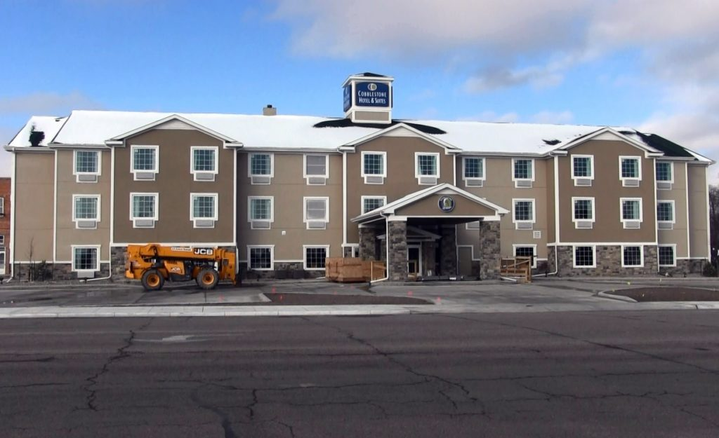 Cobblestone Hotel opening delayed