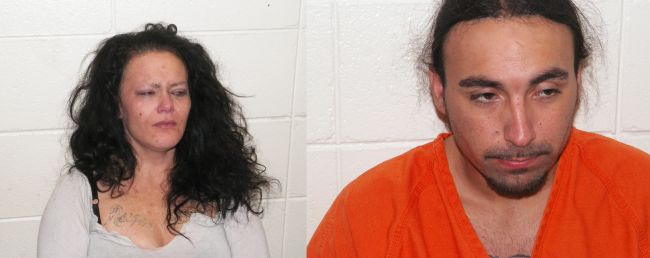 Eight county crime spree results in two arrests
