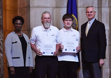 Northeast students honored at state capitol ceremony