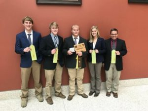 Cuming County 4-H Livestock Judging Team Participates in National Contest