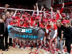 Huskers Claim A Share Of Big Ten Title