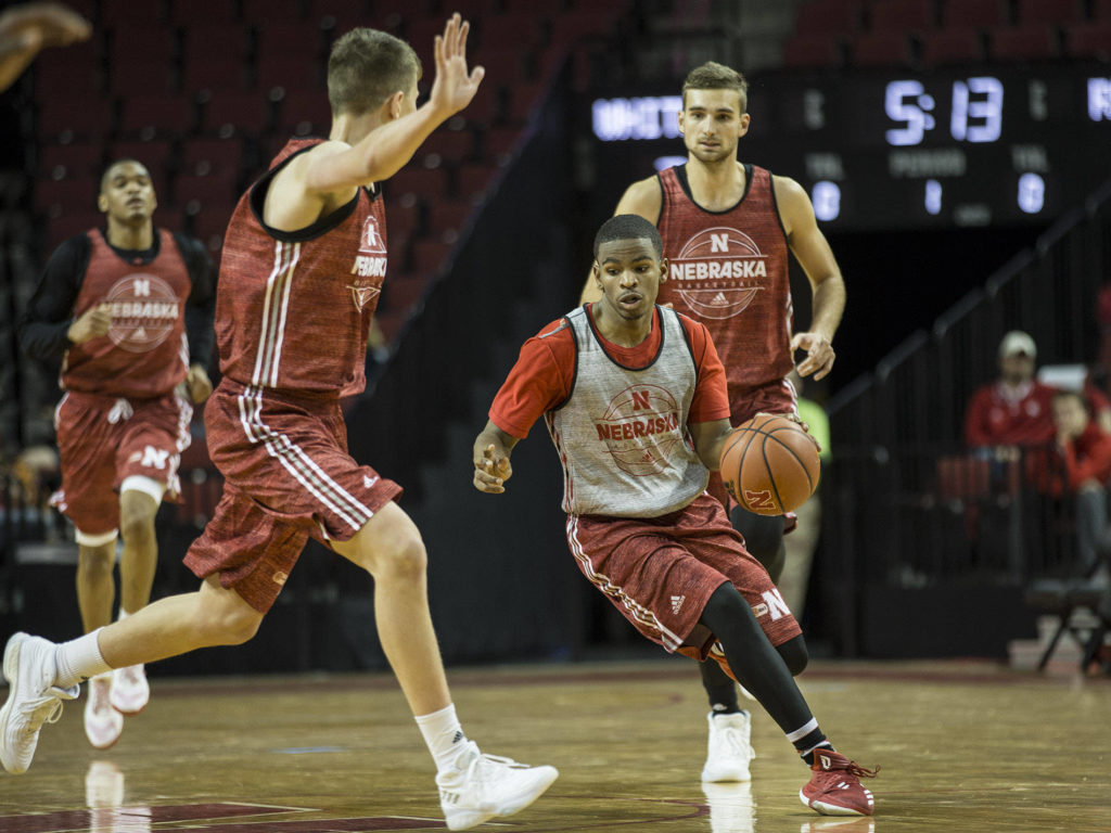 (Video) Huskers Host Exhibition Action