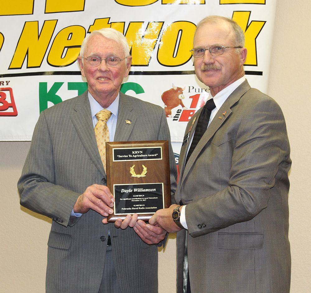 (VIDEO) Williamson honored with NRRA Service to Ag award