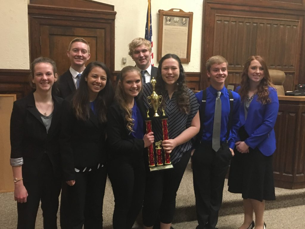 Gering Blue team wins mock trial competition