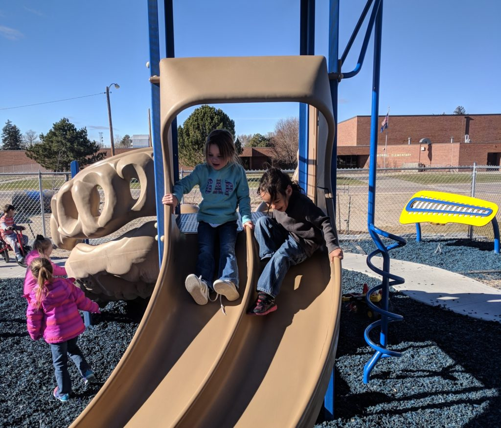 New Playground Equipment for Morrill Public Schools Early Childhood Building