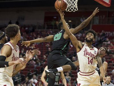 Copeland scores 30 as Nebraska routs North Dakota