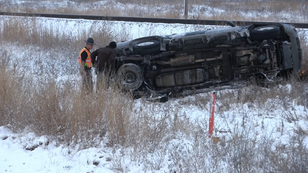 Highway 26 rollover just one of many Tuesday morning accidents