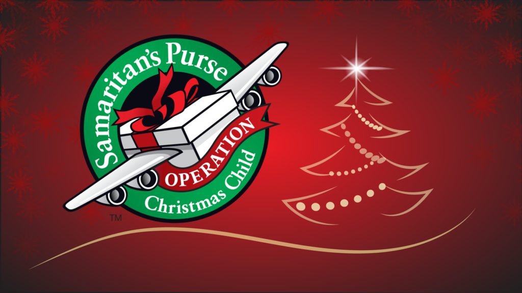 Operation Christmas Child shoebox collection begins today