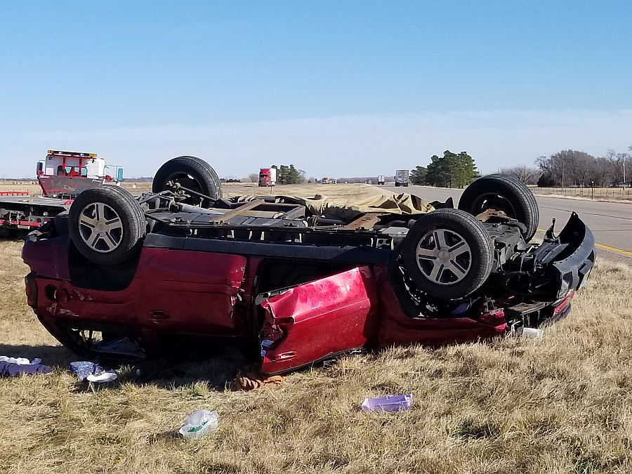 One person died in eastern Dawson County accident
