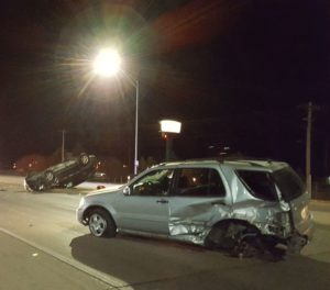 One person injured in early Wednesday accident in Lexington