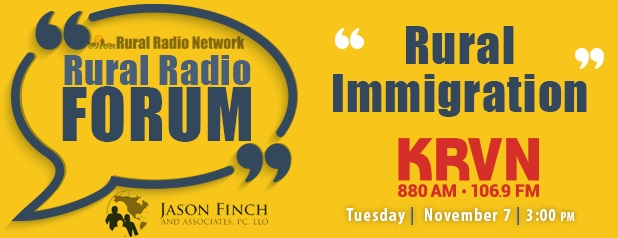 Radio Forum on Rural Immigration