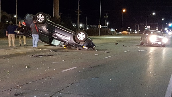 Two-vehicle crash in south Lexington backs traffic up