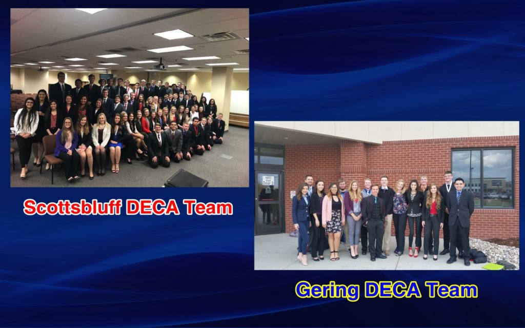Scottsbluff and Gering students compete at Greater Nebraska DECA Conference