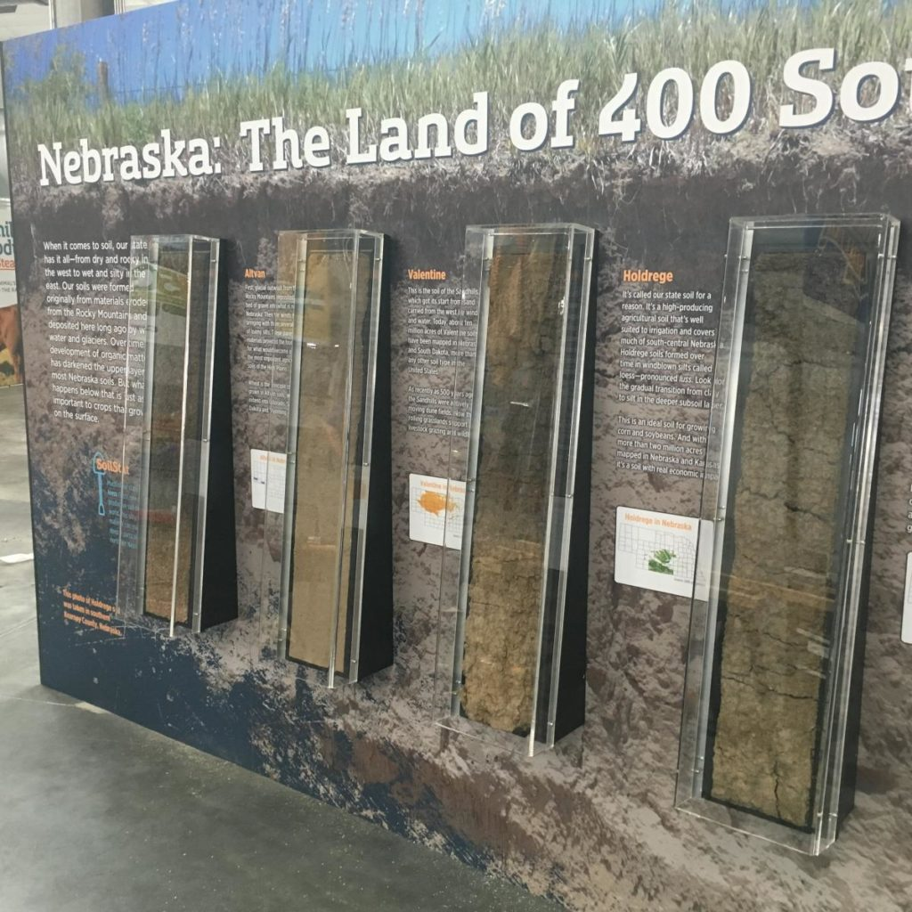 "Raising Nebraska wins international award for ""Living Soils"" exhibit"