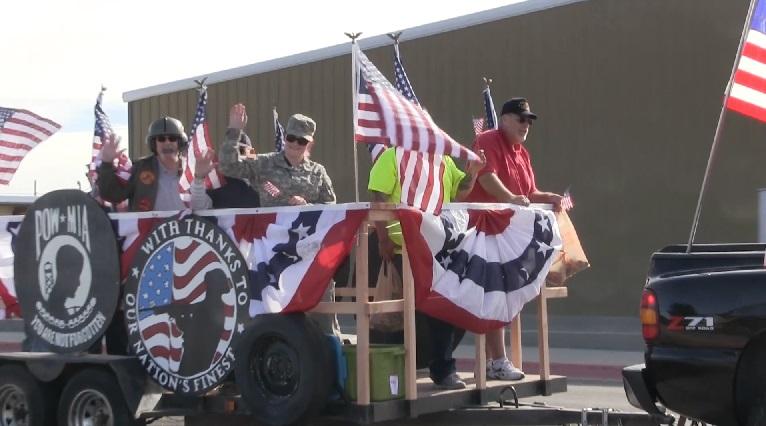 F-16 flyover to kickoff Veteran's Day parade Saturday