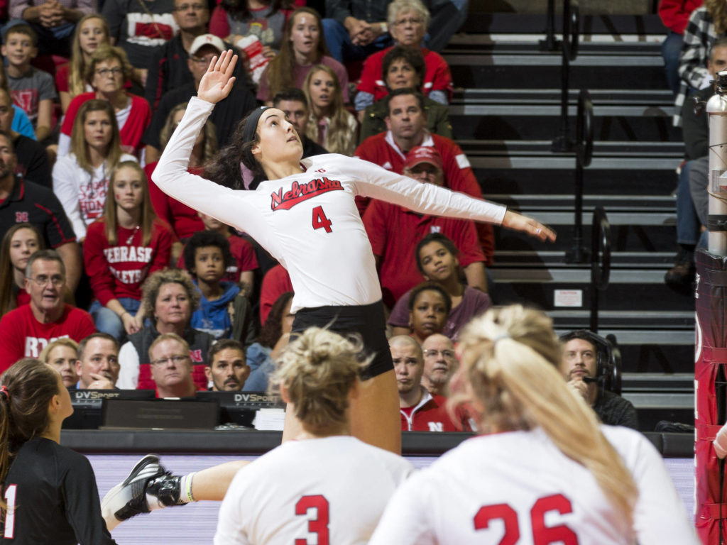 Huskers Rout Rutgers On Sunday
