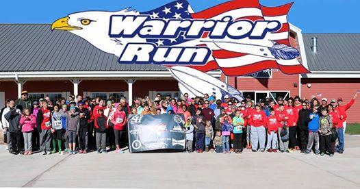 Great Western Bank Warrior Run scheduled Saturday