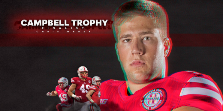 Weber Named Campbell Trophy Finalist