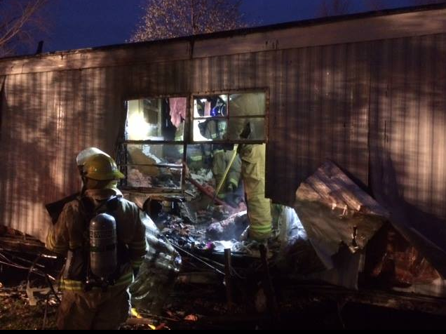 Early Morning Mobile Home Fire Results in Total Loss