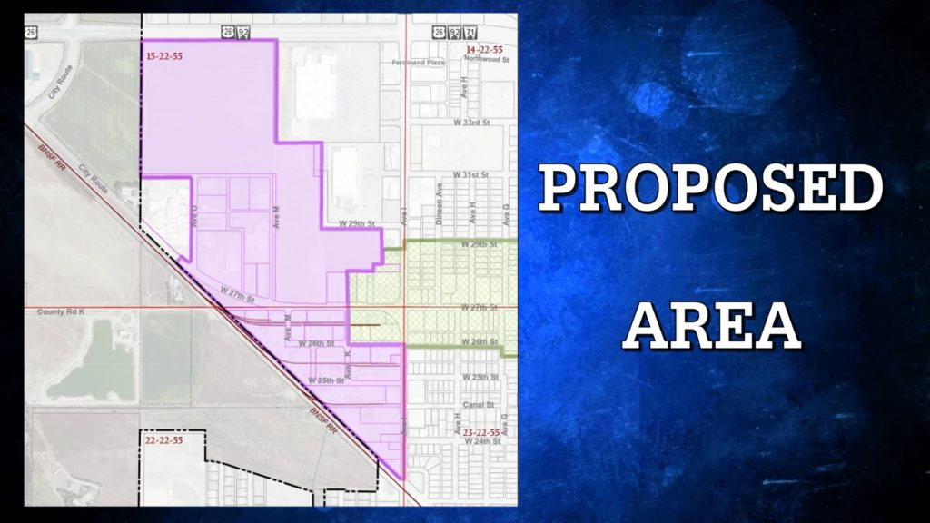 """Public hearing Monday night on """"blighted"""" declaration for west Bluffs property"""