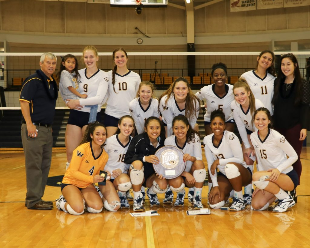 WNCC volleyball team wins 19th regional title