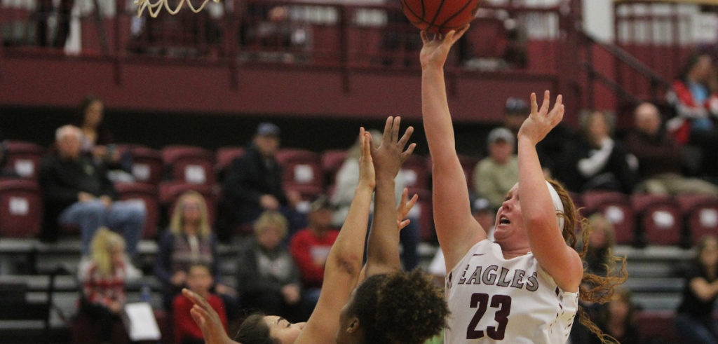 Depth pushes Eagle women to 1-0 on season
