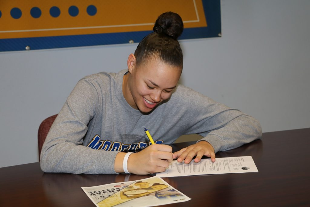 WNCC's Avery signs with DIvision I Morehead State