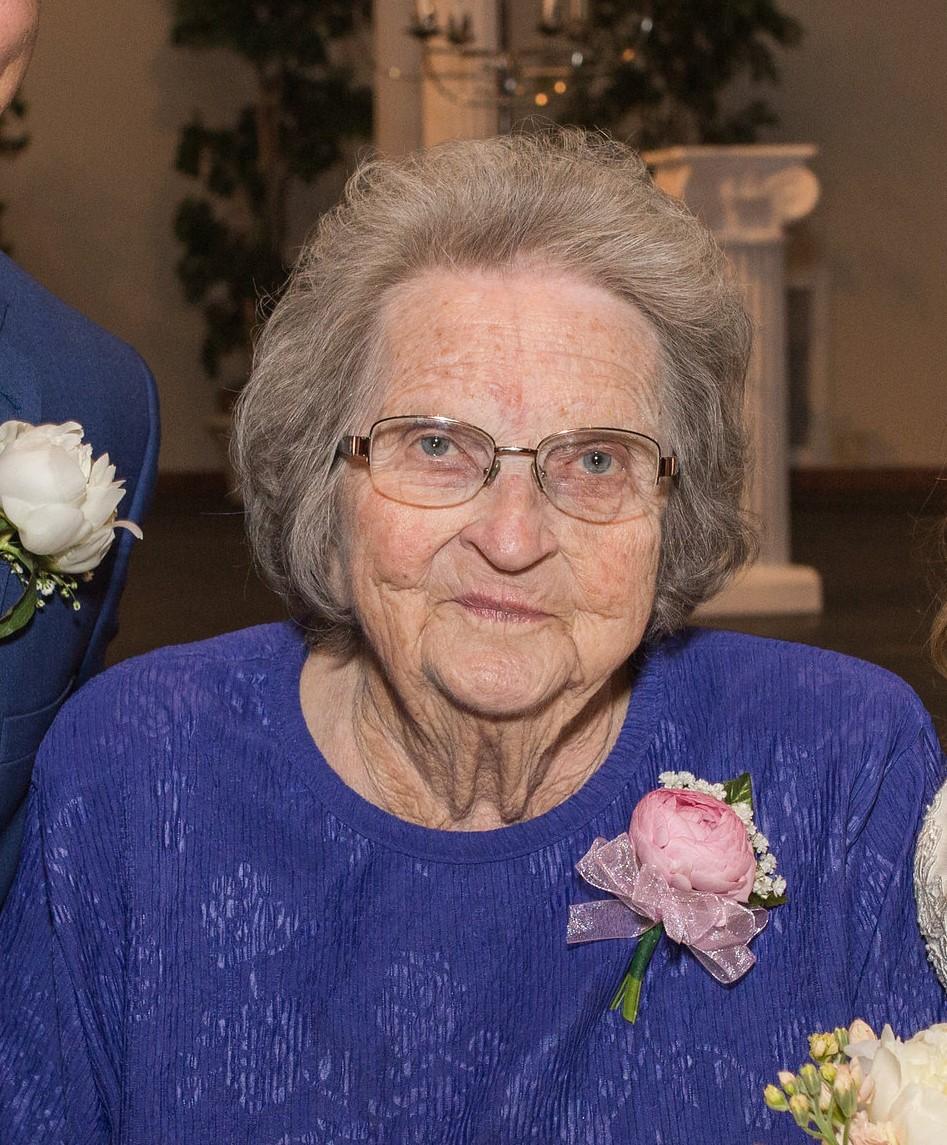 Velma Jean Elizabeth (Peterson) Brown age 85 of Brady, NE