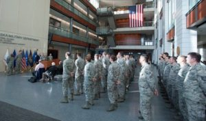 Nebraska Air Guard's 155th Air Refueling Wing for Earning 13th U.S. Air Force Outstanding Unit Award