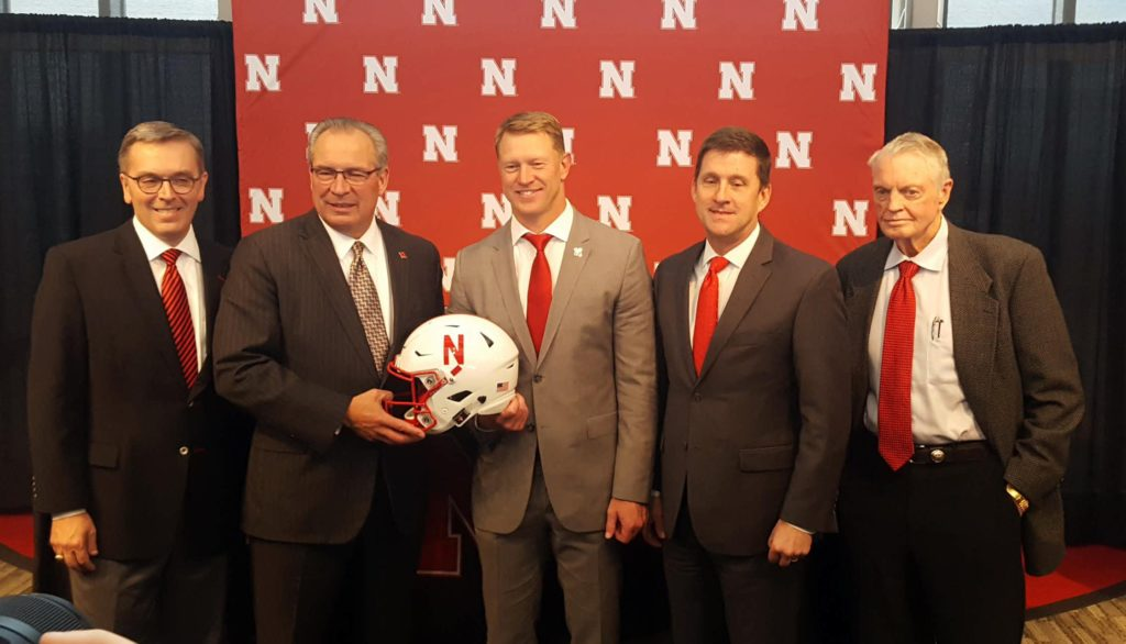 Scott Frost hired as head coach of Nebraska